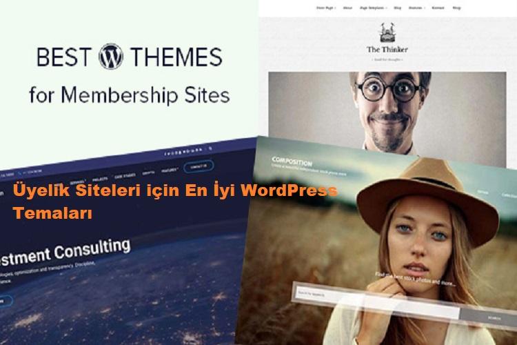 Üyelik Siteleri için En İyi WordPress Temaları