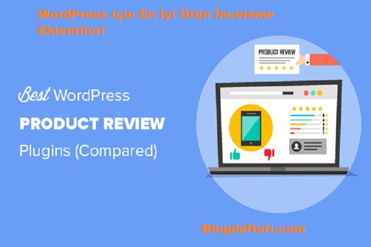 WordPress için En İyi Ürün İnceleme Eklentileri