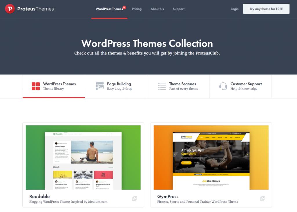 WordPress tema mağazası
