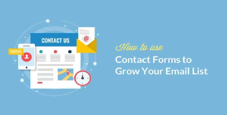 WordPress'te Email Listenizi Büyütmek için İletişim Formu Nasıl Kullanılır