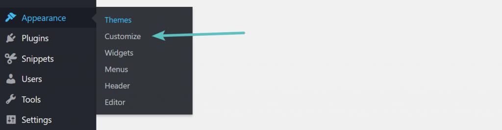 WordPress görünümünü özelleştirme