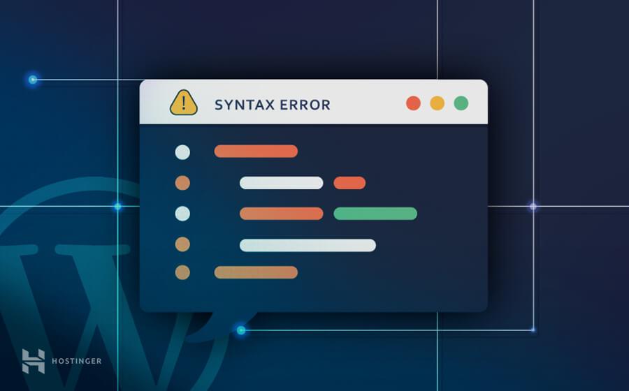 WordPress'de Sözdizimi (Syntax Hatası) Hatası Nasıl Düzeltilir