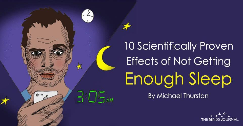 Yeterli Uyku Almamanın Bilimsel Olarak Kanıtlanmış Etkileri