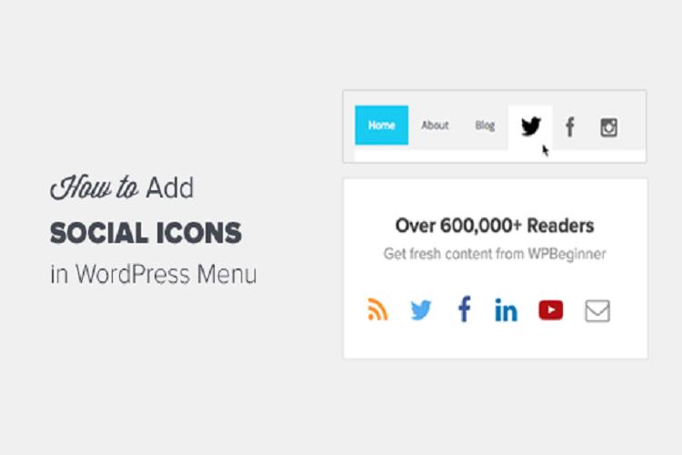 WordPress Menülerine Sosyal Medya Simgeleri Nasıl Eklenir