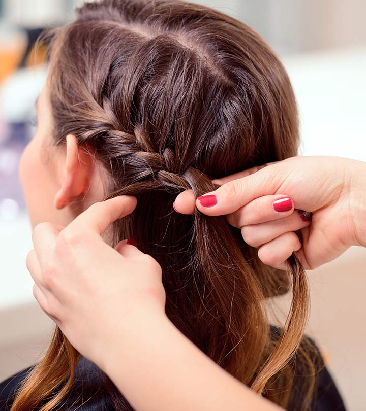 Örgülü Twister Saç