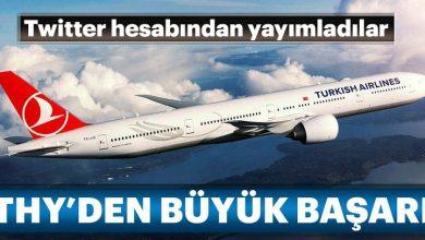 Türk Hava Yollarından Büyük Başaarı