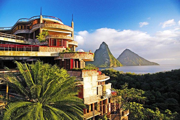 Jade Mountain Resort, Santa Lucia