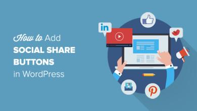 Siteye Sosyal Paylaşım Düğmeleri Nasıl Eklenir
