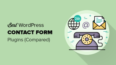 WordPress için En İyi 5 İletişim Formu Eklentisi