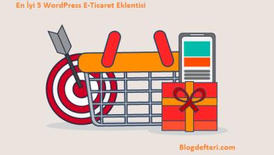 En İyi 5 WordPress E-Ticaret Eklentisi