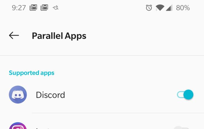 Parallel uygulamalarla, tek bir uygulama aracılığıyla birden fazla hesaba giriş yapabilirsiniz.
