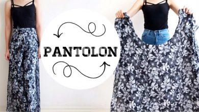 Dünyanın En kolay Pantolonu - Kalıpsız Pantolon Yapımı - Yeni Başlayanlar İçin Pantolon Dikimi