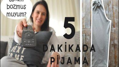 5 Dakikada Çok Kolay Pijama Dikimi Pijama Nasıl Dikilir