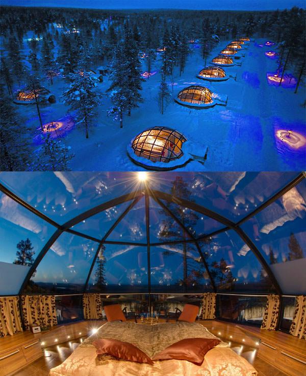 Kakslauttanen Arctic Resort, Finlandiya